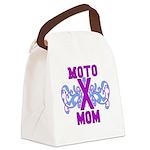 MotocrossMom Canvas Lunch Bag