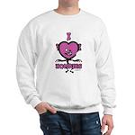 I Heart Zombies Sweatshirt