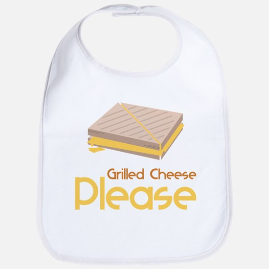 Grilled Cheese Please Bib