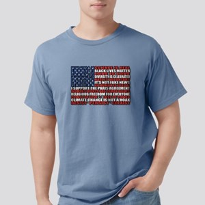 Political Protest Americ Mens Comfort Colors Shirt