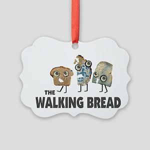 the walking bread Ornament