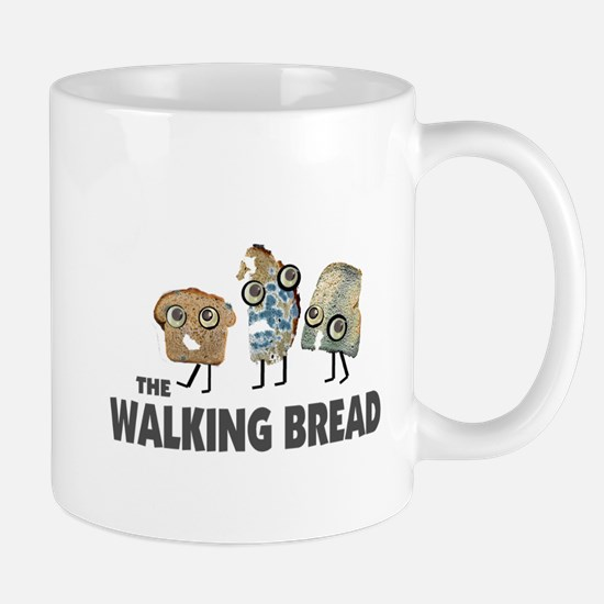 the walking bread Mug