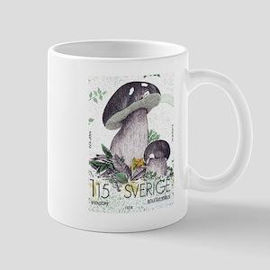 1978 Sweden Porcino Mushroom Postage Stamp Mug