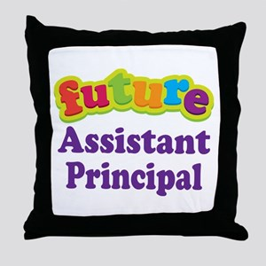 Future Assistant Principal Throw Pillow