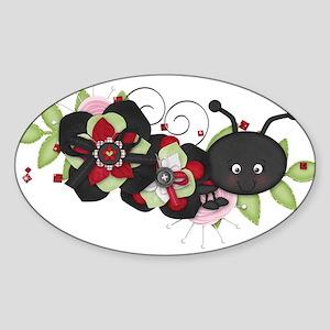 Lovebug Ladybug Sticker