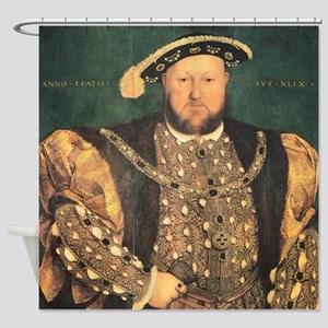 Hans Holbein the Younger Henry VIII Shower Curtain