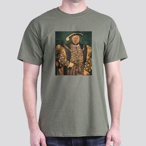 Hans Holbein the Younger Henry VIII Dark T-Shirt