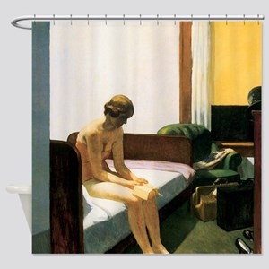 Edward Hopper Hotel Room Shower Curtain