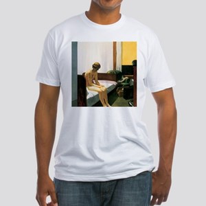 Edward Hopper Hotel Room Fitted T-Shirt