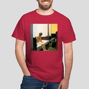 Edward Hopper Hotel Room Dark T-Shirt