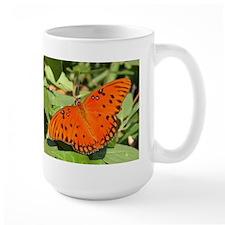 Double Butterflies Large Mug