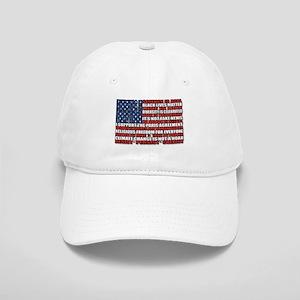 Political Protest American Flag Cap