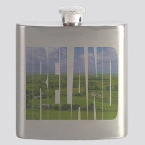 Ireland Green Pastures Photo Flask