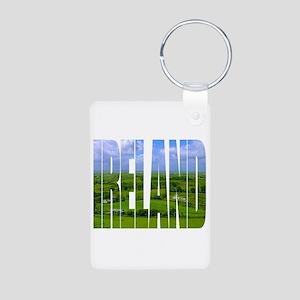 Ireland Green Pastures Photo Keychains