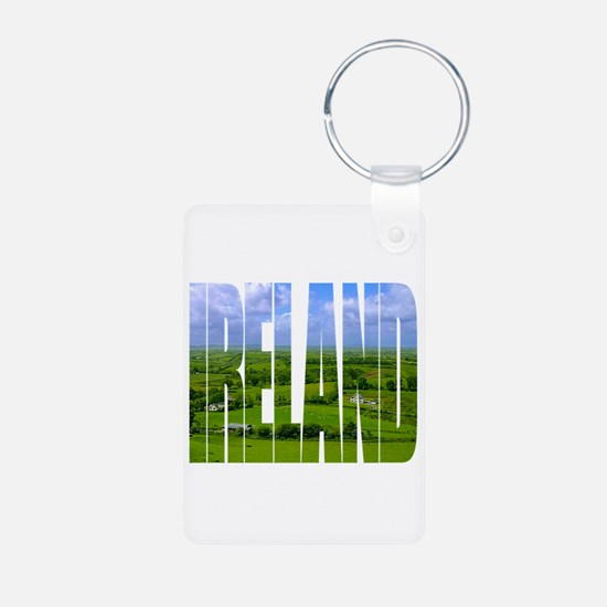 Ireland Green Pastures Photo Keychains