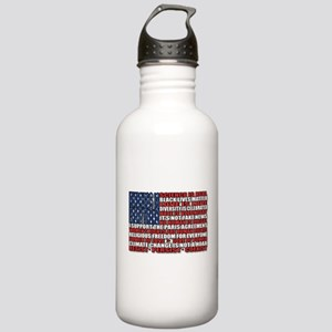 Political Protest Amer Stainless Water Bottle 1.0L