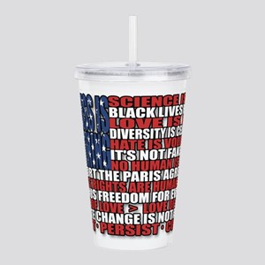 Political Protest Amer Acrylic Double-wall Tumbler