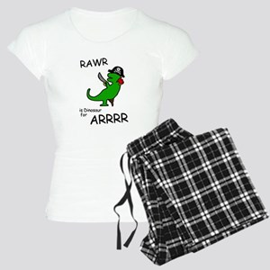 RAWR is Dinosaur for ARRR (Pirate Dinosaur) Pajama