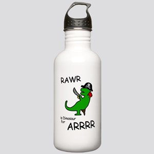 RAWR is Dinosaur for ARRR (Pirate Dinosaur) Water