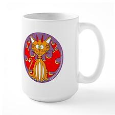 Devil Kitty Large Mug