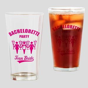 Bachelorette Party – Team Bride, Magenta Drinking