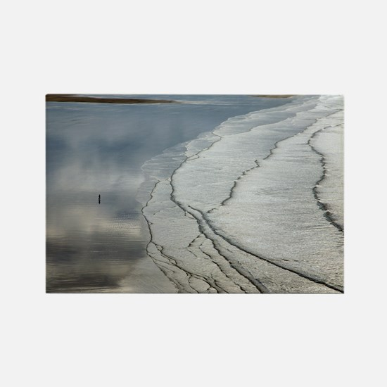 Coastal landscape - Rectangle Magnet