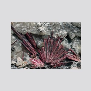 Erythrite crystals - Rectangle Magnet