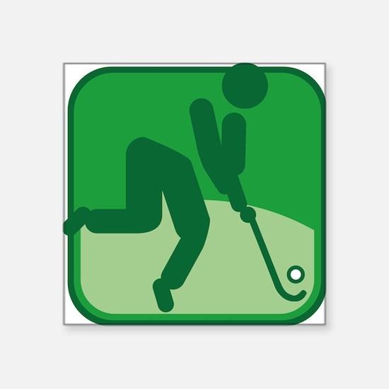 Feldhockey Sticker