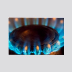 Propane burner - Rectangle Magnet