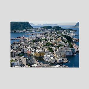 Alesund, Norway - Rectangle Magnet