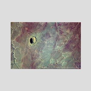 Barringer Crater, Arizona - Rectangle Magnet