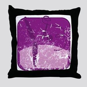 rhythmische sportgymnastik (used) Throw Pillow