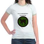 81ST INFANTRY DIVISION Jr. Ringer T-Shirt