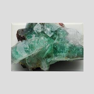 Green apophyllite - Rectangle Magnet