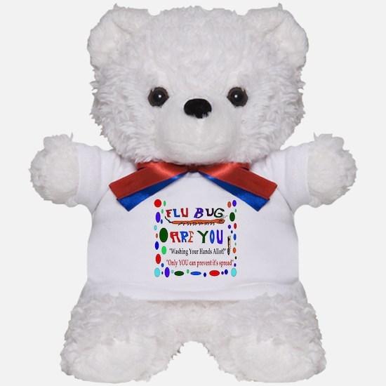 Flu Epidemic Funny Teddy Bear