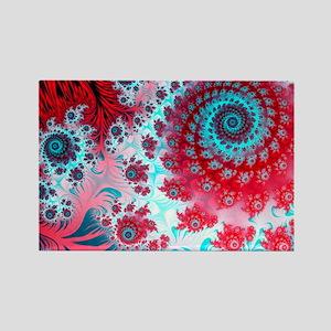 Julia fractal - Rectangle Magnet