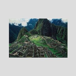 Machu Picchu - Rectangle Magnet