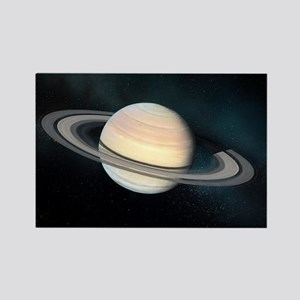Saturn, artwork - Rectangle Magnet