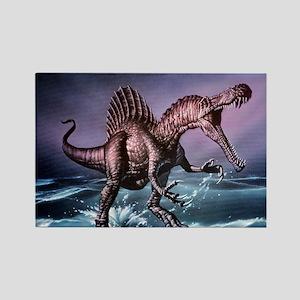 Spinosaurus dinosaur - Rectangle Magnet