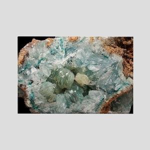 Smithsonite mineral sample - Rectangle Magnet