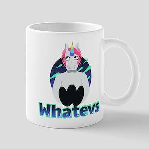Emoji Unicorn Whatevs 11 oz Ceramic Mug