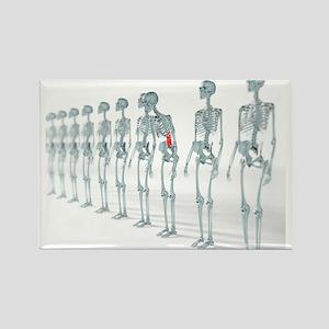 Back pain - Rectangle Magnet