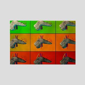 work - Rectangle Magnet