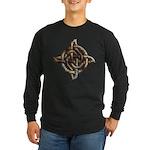 Celtic Rock Knot Long Sleeve Dark T-Shirt