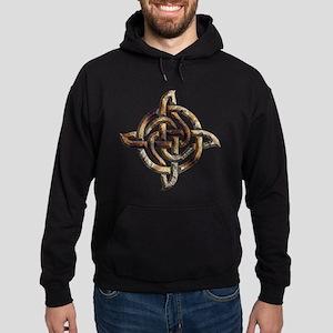 Celtic Rock Knot Hoodie (dark)