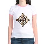 Celtic Rock Knot Jr. Ringer T-Shirt