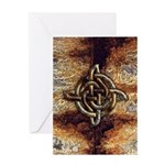 Celtic Rock Knot Greeting Card