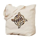 Celtic Rock Knot Tote Bag
