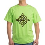Celtic Rock Knot Green T-Shirt