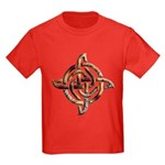 Celtic Rock Knot Kids Dark T-Shirt